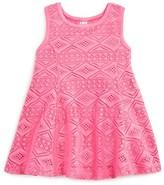 Amy Coe Infant Girls' Diamond Lace Dress - Sizes 12-24 Months