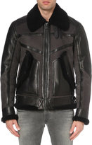 Belstaff Shearling Leather Jacket