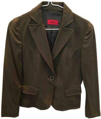 HUGO BOSS Green Wool Jackets