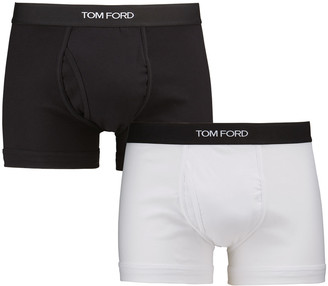 Tom Ford Men's 2-Pack Solid Jersey Boxer Briefs