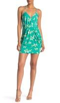 BCBGeneration Draped Sleeveless Mini Dress