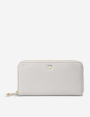 Aspinal of London Continental grained leather clutch purse