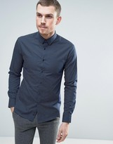 Celio Shirt with All Over Dot Print