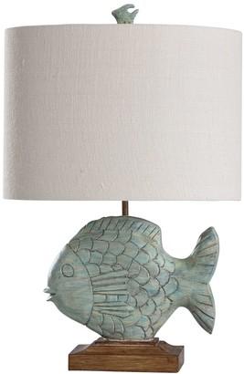 Stylecraft Ocean Blue Table Lamp