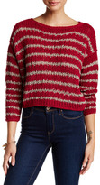 Free People Over and Easy Stripe Sweater