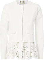 Sea Denim Eyelet Jacket