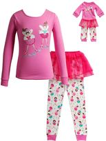 Dollie & Me Girls 4-14 Ballerina Tutu Pajama Set
