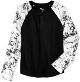 Epic Threads Graphic-Print Henley Shirt, Boys, Only at Macy's