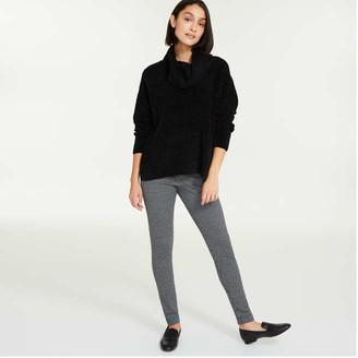 Joe Fresh Women's Texture Leggings, Black (Size S)