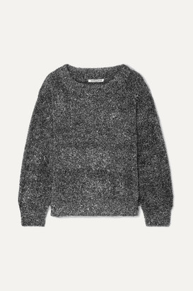 Georgia Alice Tinsel Lurex Sweater - Silver