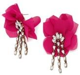 BaubleBar Women's 'Amaryllis' Floral Drop Earrings