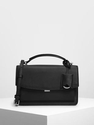 Charles & Keith Single Flap Crossbody Bag