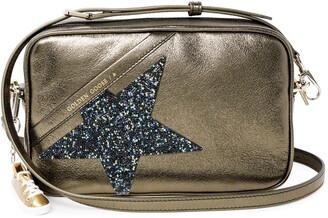 Golden Goose Star Metallic Leather Camera Bag