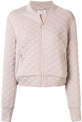 The Upside quilted bomber jacket