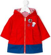 Little Marc Jacobs double hooded rain jacket