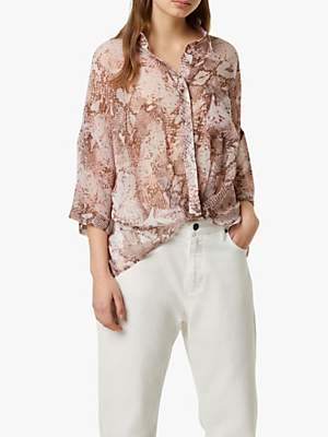 French Connection Danae Crinkle Blouse