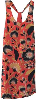 J.Crew Orange Silk Dress for Women