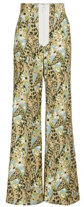 Miu Miu Printed giraffe jeans