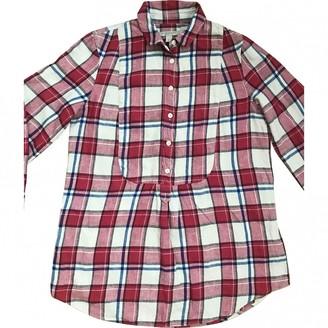 Burberry Red Linen Top for Women