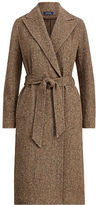 Polo Ralph Lauren Donegal Tweed Open-Front Coat