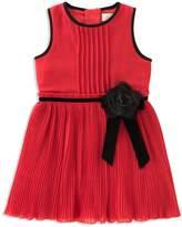 Kate Spade Girls' Pleated Chiffon Dress