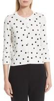 Kate Spade Women's Dancing Dot Cotton Cardigan