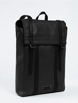 Calvin Klein Sport Luxe Leather Backpack