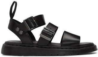 Dr. Martens Black Gryphon Sandals