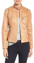 Bernardo Women's Kirwin Leather Moto Jacket