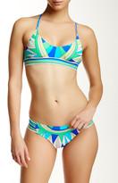 Trina Turk Fiji Feathers Bikini Top