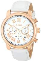 A Line a_line Women's AL-80163-RG-02 Amor Analog Display Japanese Quartz White Watch