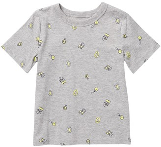 Joe Fresh Allover Print Tee (Toddler & Little Boys)