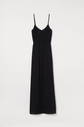 H&M Crepe maxi dress
