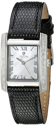 Croton Women's CN207057BSMP Ballroom Analog Display Quartz Black Watch