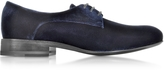 Jil Sander Golfo Velvet Lace-up Shoe