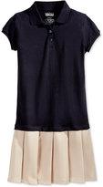 Nautica Uniform Pleated Polo Dress, Big Girls (7-16)
