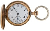 Elgin 14k Yellow Gold Mechinical Wind Pocket Watch
