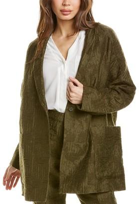 TSE Slouchy Wool-Blend Jacket