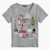 "J.Crew ""London"" destination art T-shirt"