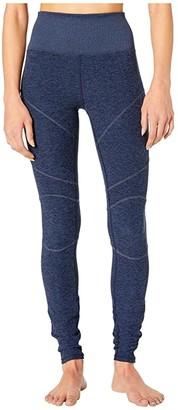 Alo High-Waist Alosoft Revel Leggings (Dark Heather Grey) Women's Casual Pants