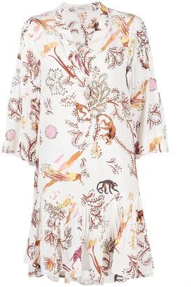 Dorothee Schumacher Tree of Life nature-print silk dress