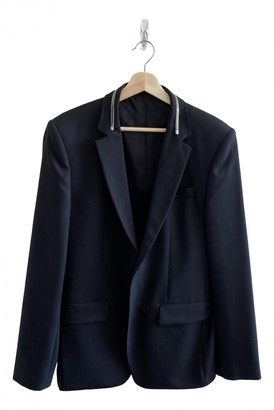 Givenchy Black Polyester Suits