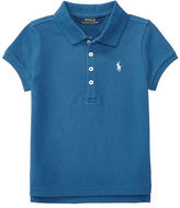 Ralph Lauren 2-6X Stretch Mesh Short-Sleeve Polo