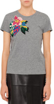 Valentino T-Shirt With Tropical Detail