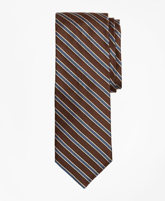 Brooks Brothers Limited Edition Archival Collection Striped Rep Silk Tie