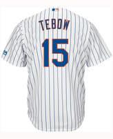 Majestic Kids' Tim Tebow New York Mets Player Replica Cb Jersey
