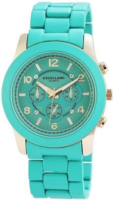 Excellanc Women's Quartz Watch 10 150803500010 with Metal Strap