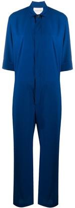 Stephan Schneider Short Sleeve Wool Jumpsuit