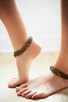 Free People Raindrops Anklet Set