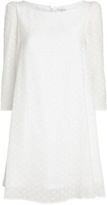 Claudie Pierlot Polka-Dot Print Mini Dress